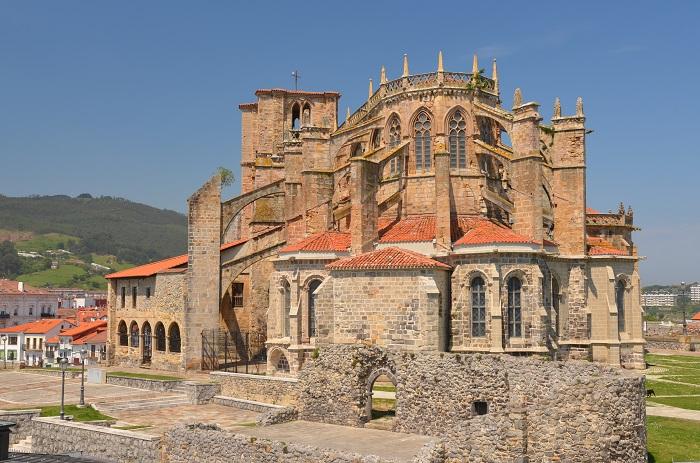 Eglise de Santa Maria de style gothique à Castro Urdiales